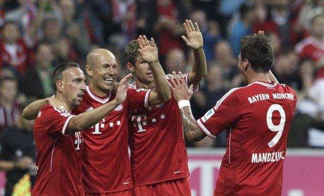El Bayern de Múnich de Pep Guardiola