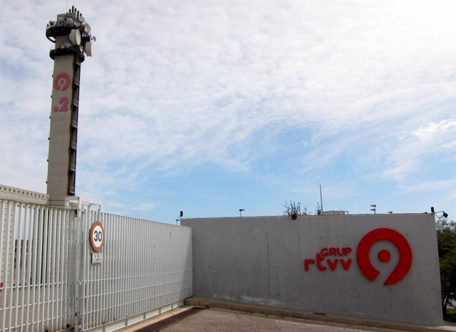 Sede de RTVV en Burjassot (Valencia).