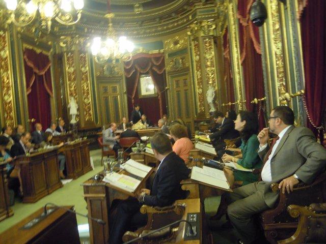 Pleno municipal de Bilbao
