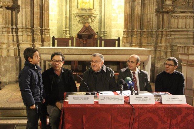 La catedral acoge la escenificación del Canto Medieval de la Sibila