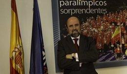 Miguel Sagarra, secretario general del Comité Paralímpico Español
