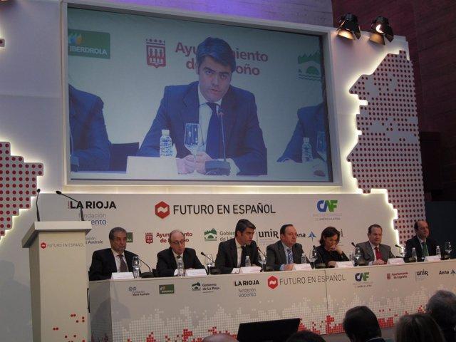 Intervención de Enríquez en Jornadas 'Futuro en Español'