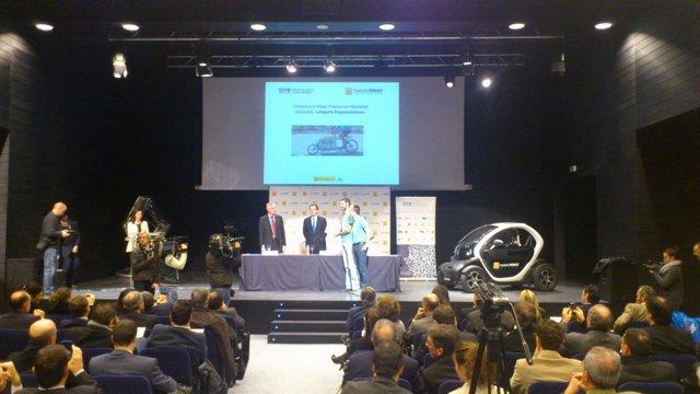 Entrega de los I Premios de Movilidad Sostenible de la Fundación Renault