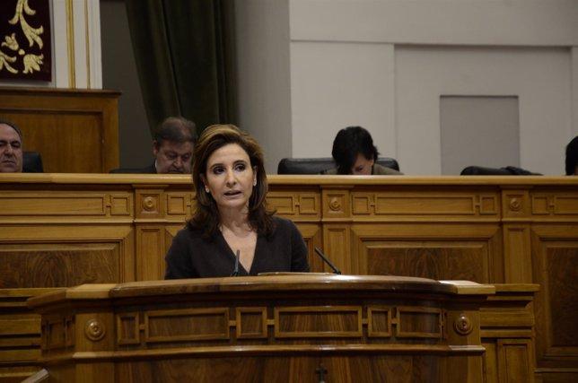 Marta García en el Pleno del 28-11