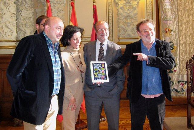 Presentación del concierto organizado con Coca-Cola y hosteleros en Valladolid