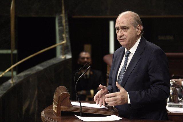 Jorge Fernández Díaz (Interior) en el Congreso