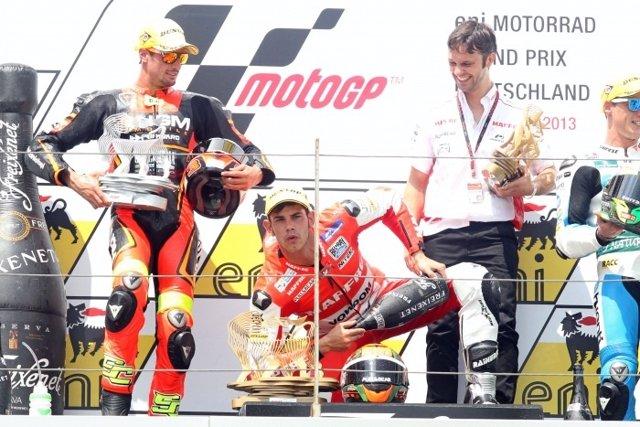 Jordi Torres, vencedor del GP de Alemania en Moto2