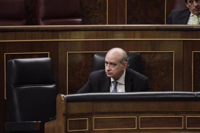 Fernández Díaz en el Pleno del Congreso
