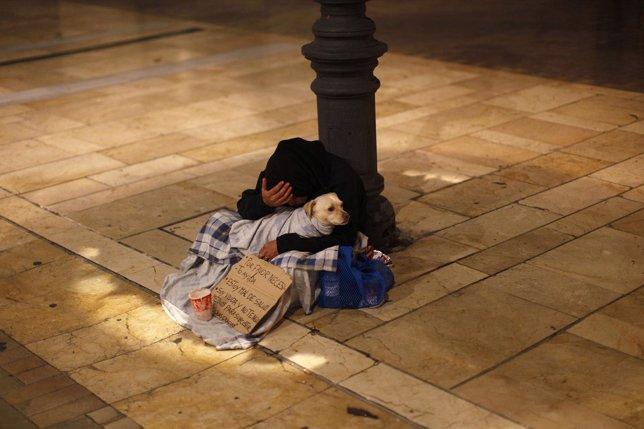 Pobre, pobreza, mendigo