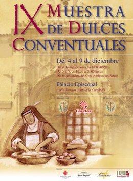 Cartel de la muestra de dulces conventuales