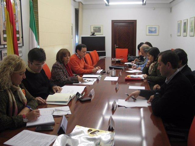 Reunión del Consejo Provincial de Consumo en Jaén