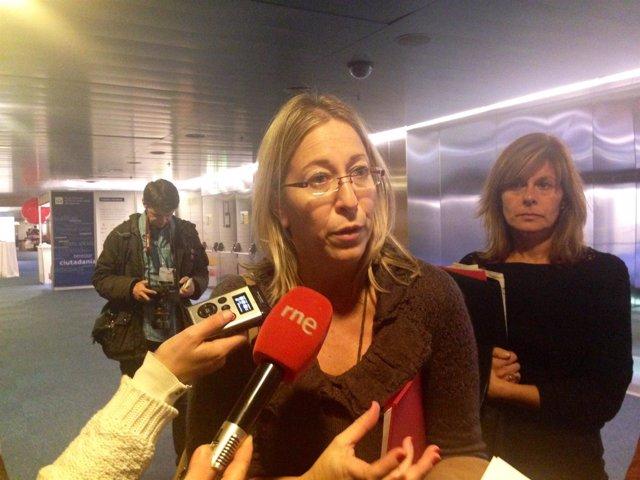 La consellera de Bienestar Social y Familia, Neus Munté.