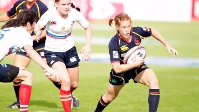 La selección española seven femenina de Rugby