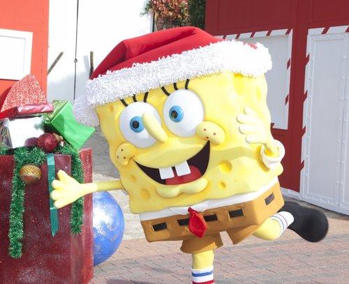 Bob Esponja en Parque Atracciones Madrid Navidad