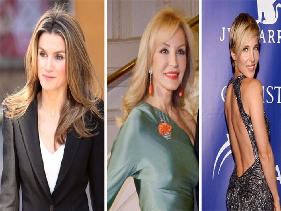 Famosas con cirugía plástica: Letizia Ortiz, Carmen Lomana, Elsa Pataky