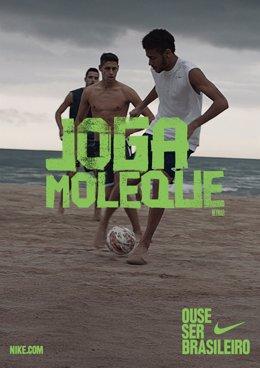 Neymar en la nueva campaña de Nike