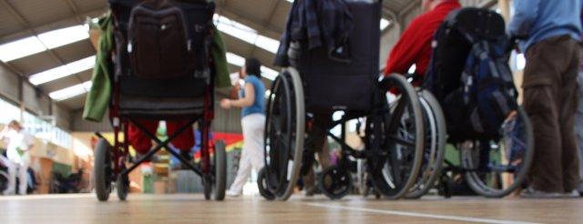 Sillas ruedas, parálisis cerebral
