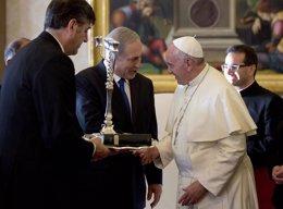 Netanyahu y el Papa Francisco