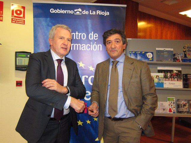 Del Río y Samper promueven participación en las elecciones europeas