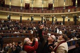 Jornada de puertas abiertas en el Congreso de los Diputados