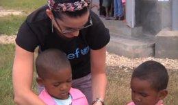 Katy Perry, embajadora de Unicef