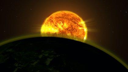 El Hubble halla signos de agua en la atmósfera de cinco planetas distantes