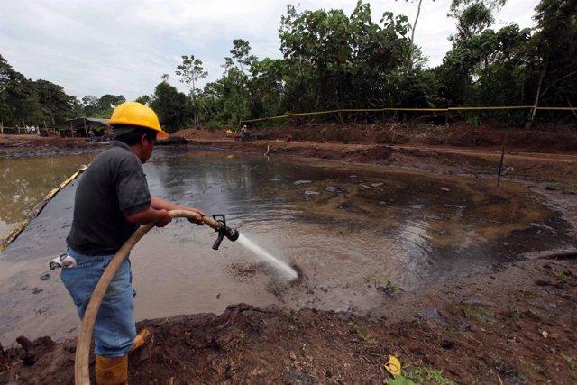 Residuos petróleo Petroecuador