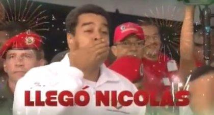 '¡Tun Tun! ¿Quién es? Gente de paz, bajen esos precios llegó Nicolás'