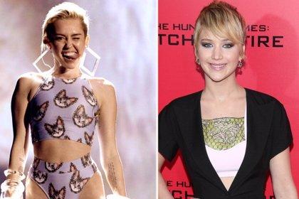 Miley responde furiosa a las declaraciones de Jennifer Lawrence y que la sexualización de los jóvenes vende