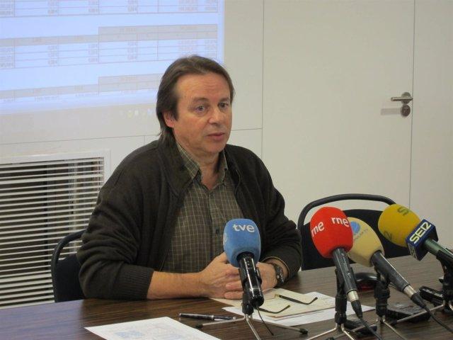 El presidente de EAPN-RM, Jesús Salmerón