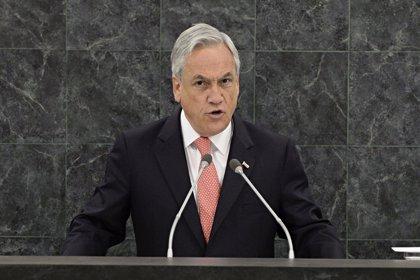 La aprobación popular de Piñera sube hasta el 43%