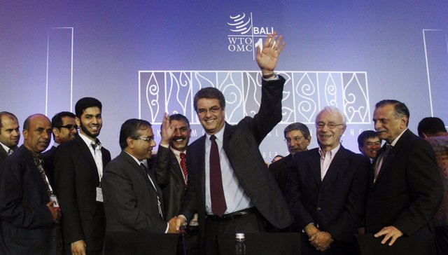 Director General de la OMC tras acuerdo reforma comercial