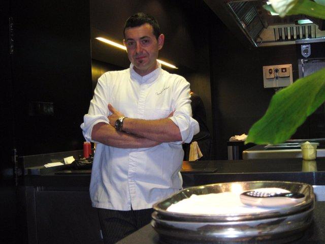 El cocinero valenciano Ricard Camarena.