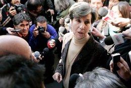 Isabel Allende, hija del ex presidente chileno Salvador Allende