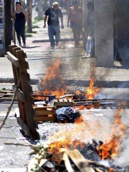 Disturbios en la provincia argentina de Córdoba por la huelga policial