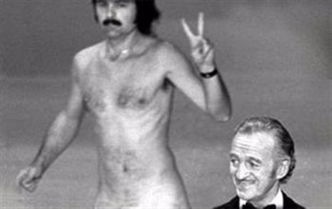 Desnudo en los Oscar