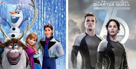 Frozen desplaza a En Llamas como líder de la taquilla norteamericana