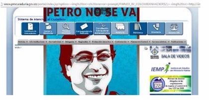 'Hackean' la web de la Procuraduría por destitir al alclade de Bogotá