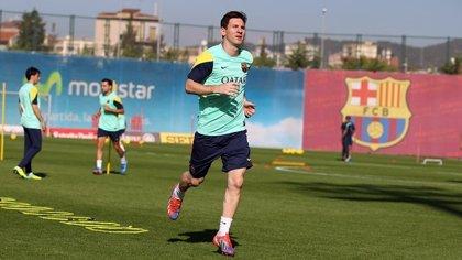 La última ecografía a Messi ya no muestra secuelas de la lesión
