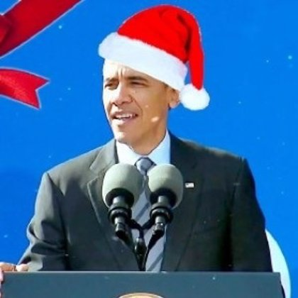 Barack Obama 'canta' el villancico Jingle Bells
