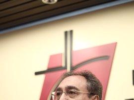 """Gil Tamayo dice que la Iglesia verá """"con alivio, entre comillas"""", una ley que sea """"menos mala que otra"""""""