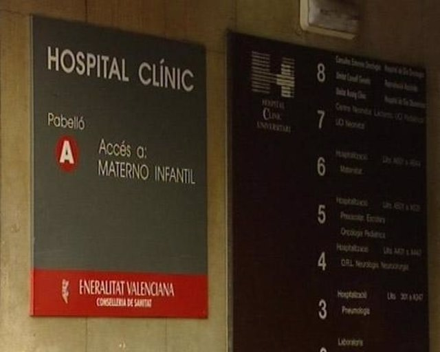Fachada del Hospital Clínico de Valencia