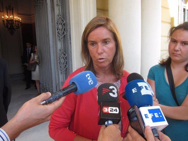 La ministra de Sanidad, Ana Mato