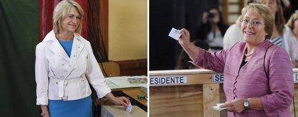 Bachelet sería presidenta de Chile con más del 63% de los votos