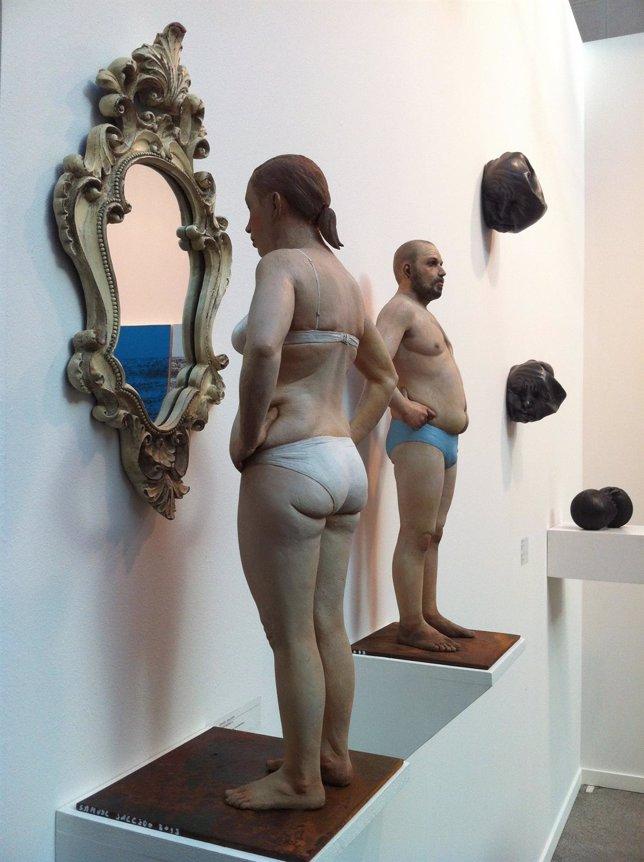 Escultura de Casa//Arte