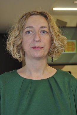 Patricia Luquin, portavoz de IU