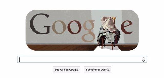 Doodle de Google dedicado a Antoni Tàpies