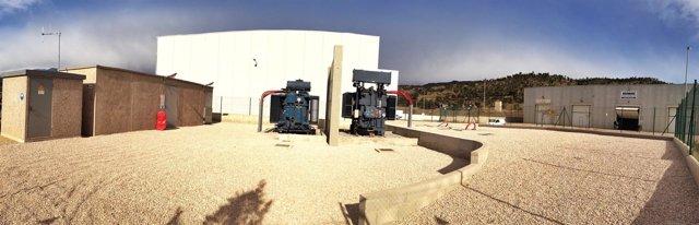 Subestación de Endesa en La Jonquera