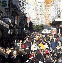 Turismo de compras, en imagen de archivo.