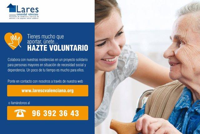 Campaña de búsqueda de voluntarios de LARES